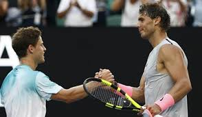 Watch extended highlights from diego schwartzman vs novak djokovic in r4 of australian open 2020. Aus Open Nadal Fights Off Gutsy Schwartzman To Reach Quarters