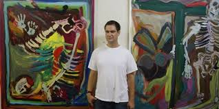 painter josh smith on his new bos of work