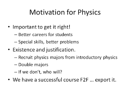 social homework using an interaction tool in an online physics  motivation for physics important to get it right