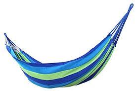 Gaorui <b>Double</b>/<b>Single</b> Hammock Cotton Rope Outdoor Swing ...