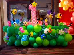 decor new balloon birthday decoration home design ideas unique