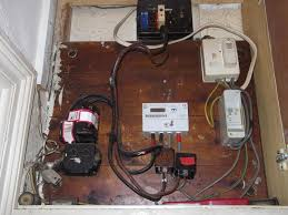 old consumer units need to be upgraded diynot forums it seems the device in the bottom right is rccb for shower the consumer unit is earthbonded to a pipe in the bottom left there are three fuse box on the