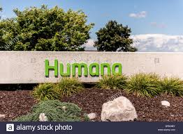 depere wi 14 august 2016 sign of humana health insurance company which is