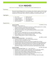 Cashier Resume Sample No Experience S General Manager Resume