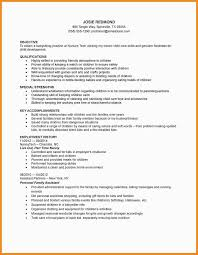 Babysitting Resume Example Babysitting Resume Art Resume Examples 11
