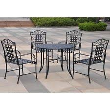 Unbranded Wrought Iron Outdoor Furniture Sets