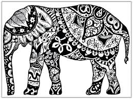 Elephant Color Pages Elephant Coloring Page 6 Mother And Baby