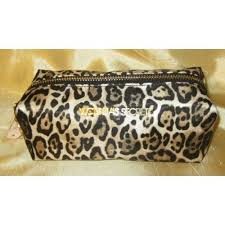 victoria 39 s secret cosmetic bag leopard print long 16 00