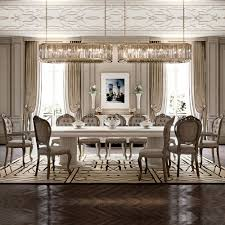 italian designer high end dining table and chair set