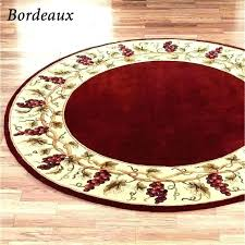 3 foot by 5 rug round red exotic ft circle large kitchen rugs outdoor area bathroom