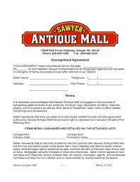 12 Fresh Retail Consignment Agreement Template | Agreement Ideas