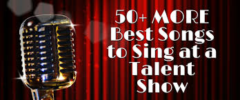 50+ Good Songs to Sing at a Talent Show – TakeLessons Blog