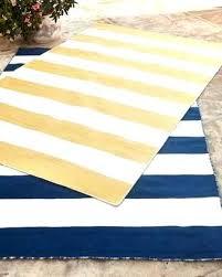 rugby stripe indoor outdoor rug 5x7 rugs