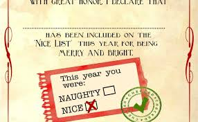 Official form 424 certification to court of appeals by all parties. Free Letter To Santa Template With Nice List Certificate Cute766