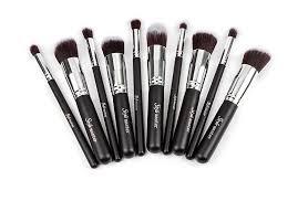 cosmetic make up brush tools wool makeup brushes set kit