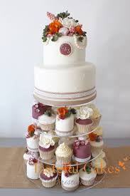 Tasteful Cakes By Christina Georgiou Autumal Wedding Cake