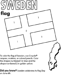 Small Picture Sweden Coloring Page crayolacom