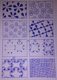 Zentangle Patterns Easy Simple Decorating