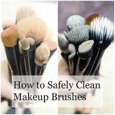 how to clean makeup brushes safely with baby shoo graphic