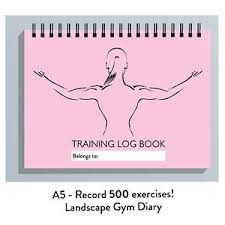 weight training log book gym workout log book gym diary women men fitness training journal