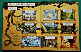 Norse Mythology Chart Norse Myths Ofamily Learning Together