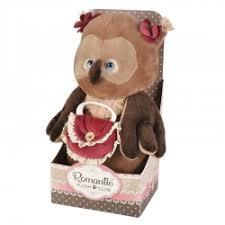 Мягкая игрушка <b>Maxitoys</b> Luxury <b>Сова</b> романтическая с Красной ...