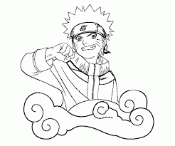 Naruto Uzumaki Coloring Pages Uzumaki Naruto Coloring Pages