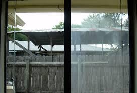 how to clean inside of double pane sliding glass doors saudireiki