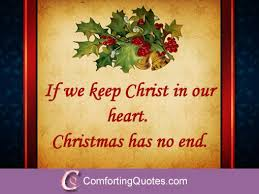 Religious Christmas Quotes Adorable Christmas Quote About Christ ComfortingQuotes