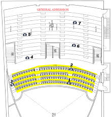Historic Everett Theater Seating Chart Seating Chart