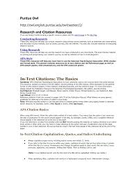 Purdue Owl Resume Floating City Org Sample Resume Templates 23641