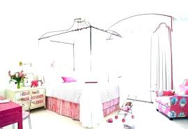 Twin Size Canopy Bed Twin Size Canopy Bed Frame Brilliant Girls Home ...