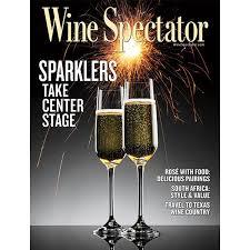 Wine Spectators June 15 2019 Issue Sparkling Wine Has