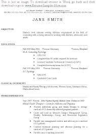 Counseling Psychologist Sample Resume Massage Therapist Sample Resume Here Is A Massage Therapist Sample 15
