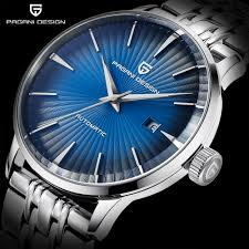Pagani Design Watch Us 62 99 90 Off Pagani Design Mens Fashion Casual Mechanical Watches Waterproof 30m Stainless Steel Brand Luxury Automatic Business Watch Saat In