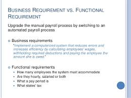 Business Requirement Example Business Requirements Gathering And Analysis