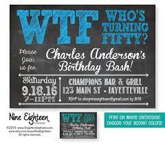 50th Birthday Invitation Ideas Granizmondal Com