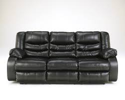 black recliner couch. Simple Black Linebacker DuraBlend  Black Reclining Sofa Inside Recliner Couch L