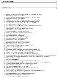 best i love books images answer all these questions and you should have a fully developed character for your audience