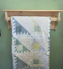 deluxe quilt blanket holder wall