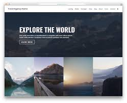 Tourism Web Design Inspiration 29 Best Free Travel Website Templates 2019 Colorlib