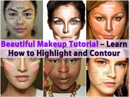 beautiful makeup tutorial learn how to highlight and contour diy crafts