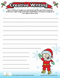 creative writing prompts rd grade worksheets com christmas writing prompt