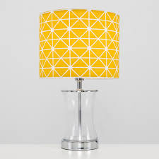 Archie Touch Table Lamp With Yellow Shade Iconic Lights