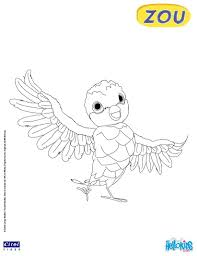 Poc Coloring Page From Zou The Cute Little Zebra Tv Serie More Tv