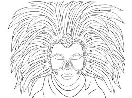 Small Picture Venetian Mask coloring page Free Printable Coloring Pages