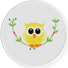 Owl Cross Stitch Pattern Cool Decorative Owl Cross Stitch Pattern Daily Cross Stitch