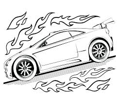 Sports Car Coloring Page Free Printable Sports Car Coloring Pages