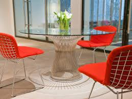 buy the knoll studio knoll platner dining table at nestcouk