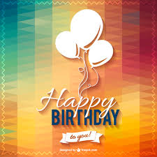 happy birthday design happy birthday lettering party design vector free download